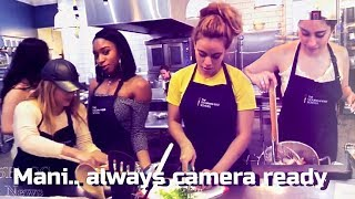 FIFTH HARMONY COOKING DATE NIGHT