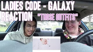 """Ladies Code - Galaxy MV Reaction """"Those Outfits!"""""""
