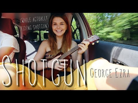 Download shotgun - George Ezra cover WHILE ACTUALLY RIDING SHOTGUN free
