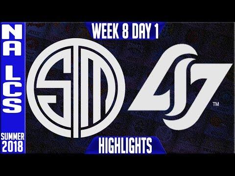Xxx Mp4 TSM Vs CLG Highlights NA LCS Summer 2018 Week 8 Day 1 Team Solomid Vs Counter Logic Gaming 3gp Sex