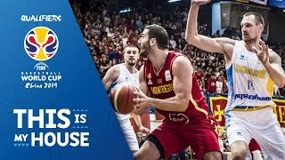 Montenegro v Ukraine - Highlights - FIBA Basketball World Cup 2019 - European Qualifiers