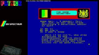 Yes Prime Minister! (Zx Spectrum)