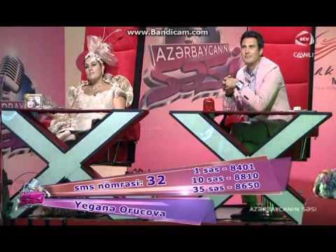 Azerbaycanin Sesi SAMIR CHEKMAROV YEGANE ORUCOVA Toca Toca