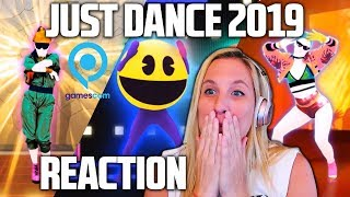 JUST DANCE 2019 TRAILERS REACTION! (Gamescom 2018)