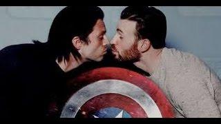 Capitão América Gay namorando com o Soldado Invernal?