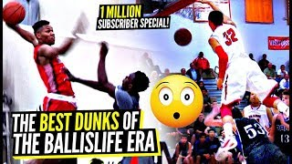 DON'T JUMP! The ABSOLUTE BEST DUNKS of The BALLISLIFE ERA!!! 1 Million Sub Special!
