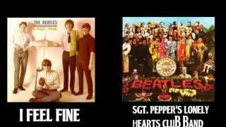 The Beatles Mashup - I Feel Fine vs Sgt. Pepper's Lonely Hearts Club Band