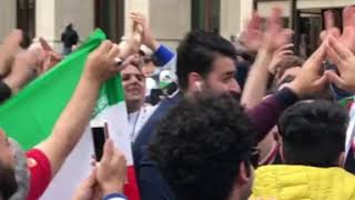 Iran fans today at Moscow 12.06.2018
