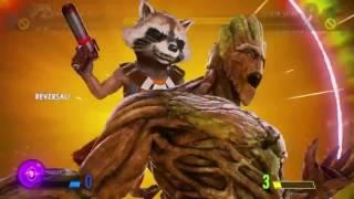 Marvel Vs Capcom Infinite Demo character Super Moves