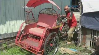 Kisah Inspiratif, Seorang Kakek Sebatang Kara Dihadiahi Bedah Rumah Oleh Polres Ponorogo