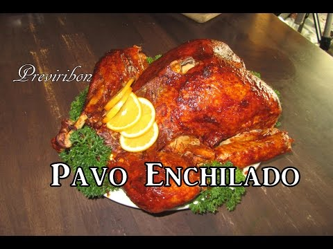Pavo Enchilado super fácil,económico y delicioso *video 175*