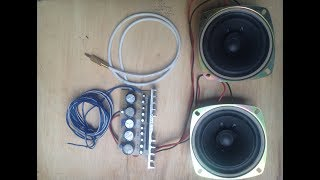 Home made 12V Audio Amplifier using  LA440 IC