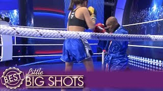 Little Big Shots | Mike Tyson 'Fights' Little Girl