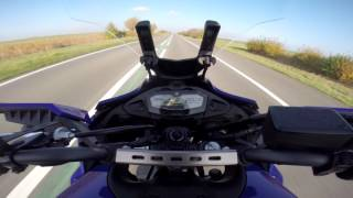 YAMAHA TRACER 700 TOP SPEED - 200+ KM/H!