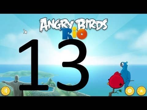 Let s Play Angry Birds Rio 13 The Great Brazilian Suitcase Chase