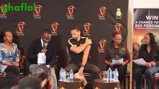 Rio Ferdinand Press Conference - Guinness Fanzone In Nairobi, Kenya 2018