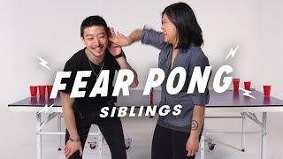 Brother vs. Sister  (Alstein & Stephanie) | Fear Pong | Cut
