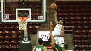 Derrick Jones UNREAL Alley-Oop Dunk On Defender In NBA D-League!  | 12 03 16