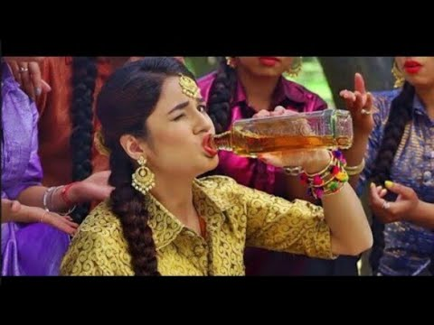Daru Badnaam karti   Heart Crush Love Story   New Romantic Punjabi Song Daru sure karate