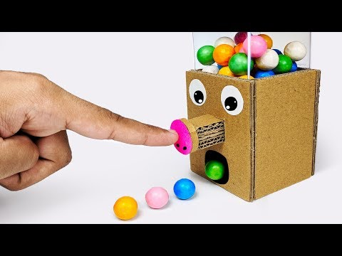 Xxx Mp4 How To Make GumBall Candy Dispenser Machine From Cardboard 3gp Sex