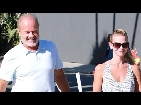 EXCLUSIVE Kelsey Grammer And His Wife Get Lunch In Beverly Hills