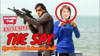 ঝর তুলতে যাচ্ছে অপু বিশ্বাস ও অনন্ত জুটির নতুন সিনেমা 'দ্য স্পাই' - Apu Biswas Ananta Jalil 'The Spy