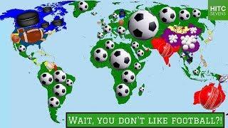7 Countries Where Football Isn