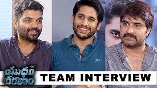 Yuddham Sharanam Movie Team Interview - Chay Akkineni, Srikanth | Krishna RV Marimuthu