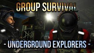 Space Engineers - Underground  Explorers - Group Survival - -S2 Ep 11-