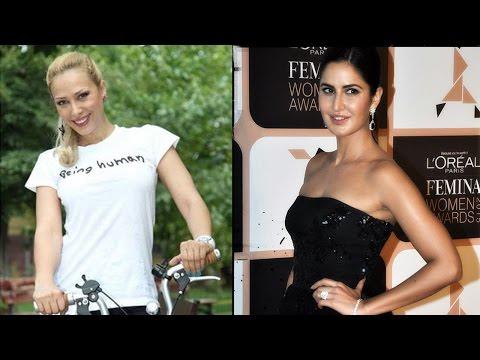 Katrina Kaif and Iulia Vantur met each other at Salman Khan house | Filmibeat
