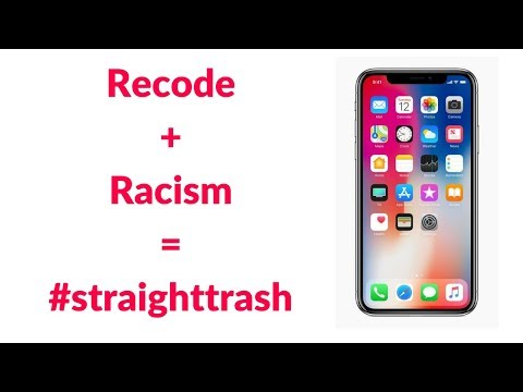 Xxx Mp4 Recode Targets Black YouTubers Over IPhone X Video Institutionalized Racism Straighttrash 3gp Sex