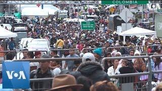 Venezuelans Pour into Ecuador en route to Peru