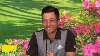Xander Schauffele's Final Round Interview