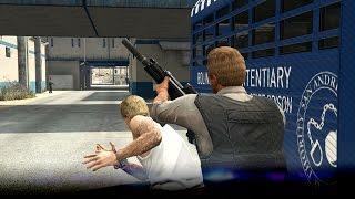 [GTA V: Heist Finale] Ontsnappen gaat helemaal fout! - Prison Break - Ep4 (GTA5)