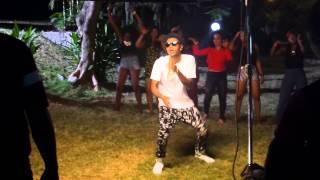 Behind the scenes clip: KISS DANIEL - WOJU remix