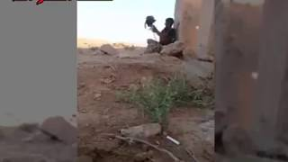 ISIS sniper has young Iraqi soldier pinned.......watch what happens