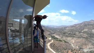 Levent vadisinde paraşüt atma