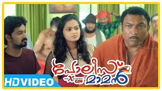 Poilce Maman Malayalam Movie | Scenes | Baburaj's family think he's haunted and does pooja