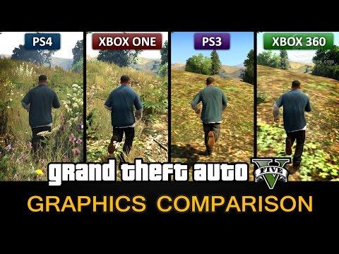 GTA 5 Graphics Comparison - PS4