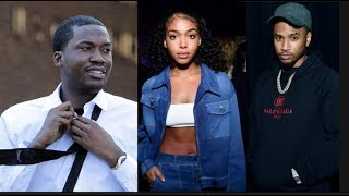 Trey Songz Goes Public With GF Lori Harvey After Meek Mill Shoots Shot Wanting Lori For Christmas