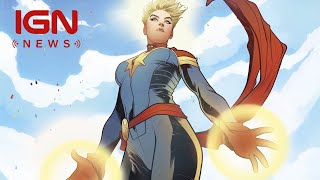 Captain Marvel Trailer Could Drop This Week - IGN News