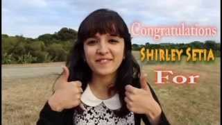 Shirley setia | 1M views on Baarish Cover!