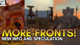 NEW Warfront Reveals Found In Game? Possibilities and Speculation! World of Warcraft BFA