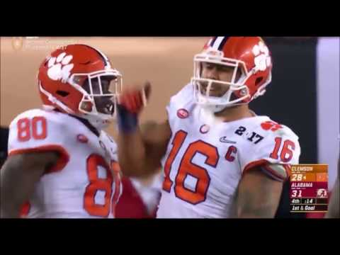 Jordan Leggett AMAZING Catch On Clemson Game Winning Drive