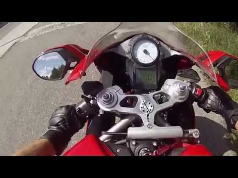 test ride ducati 999 sound test (G.P.R) Exhaust pipe