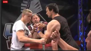 ArmFigth LAS VEGAS UAL 2013  Devon Larratt vs Oleg Zhokh
