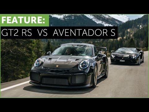 Porsche 911 GT2 RS vs Lamborghini Aventador S. Which is better