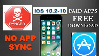 NO APPSYNC || INSTALL PAID APPS ON IOS 10.2-10