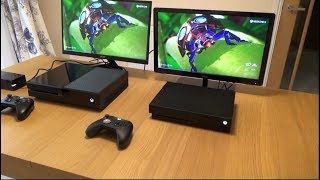 Does the Xbox One X look better on a 1080p TV compared to the Xbox One?