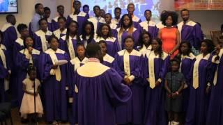 North Bronx Ghana SDA Youth Choir singing